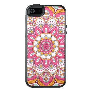 Beautiful pink Flower Design OtterBox iPhone 5/5s/SE Case
