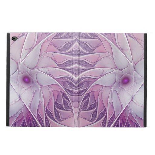 Beautiful Pink Flower Modern Abstract Fractal Art Powis iPad Air 2 Case