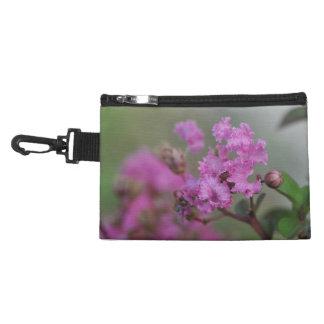 Beautiful Pink Flowers Accessories Bag