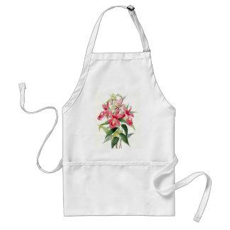 Beautiful pink flowers adult apron