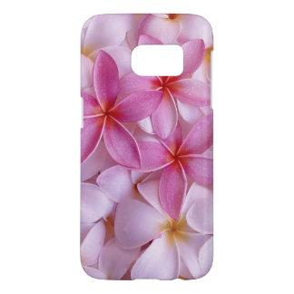 beautiful pink flowers vector art samsung galaxy s7 case