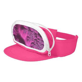 Beautiful Pink Fractal Visor