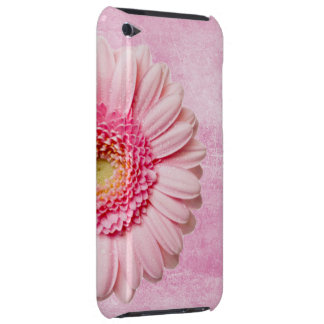 Beautiful Pink Gerbera Daisy Vintage iPod Touch Case-Mate Case
