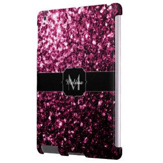 Beautiful Pink glitter sparkles Monogram