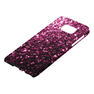 Beautiful Pink glitter sparkles Samsung Galaxy S7 Case