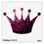 Beautiful Pink glitter sparkles Wall Decal