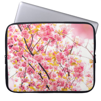 Beautiful Pink Japanese Cherry Blossom Sakura Computer Sleeve