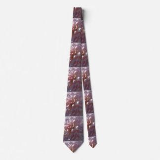 Beautiful Pink Mum Neck Tie