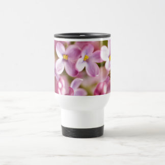 Beautiful Pink Orchid Flowers 15 Oz Stainless Steel Travel Mug