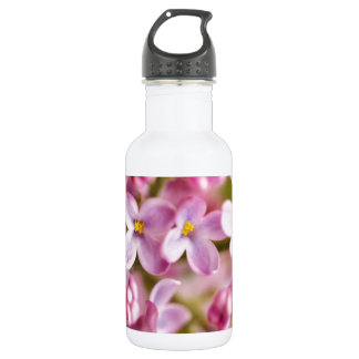Beautiful Pink Orchid Flowers 18oz Water Bottle