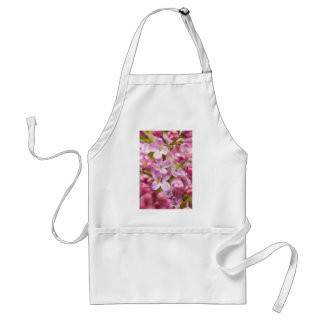 Beautiful Pink Orchid Flowers Adult Apron