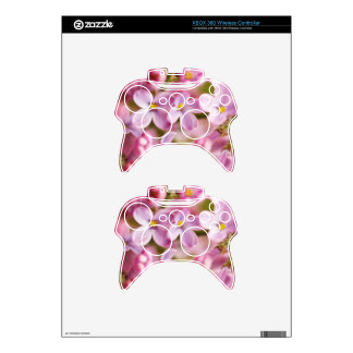 Beautiful Pink Orchid Flowers Xbox 360 Controller Skin