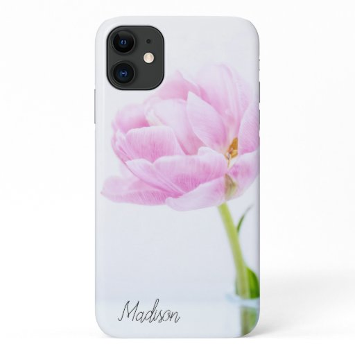 Beautiful Pink Peony | Custom Floral iPhone 11 Case