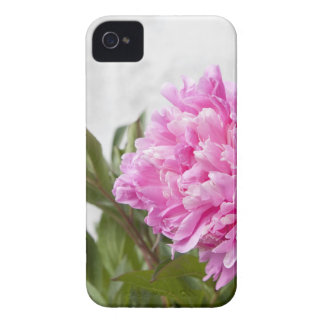 Beautiful pink peony flower floral iPhone 4 case