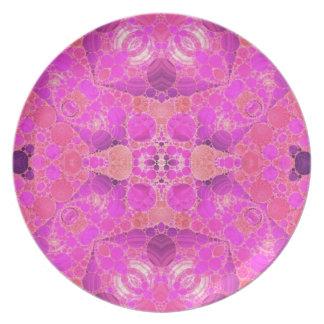 Beautiful Pink Plate