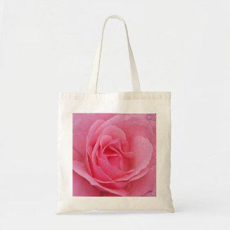Beautiful Pink Rose Bloom Tote Original Photo