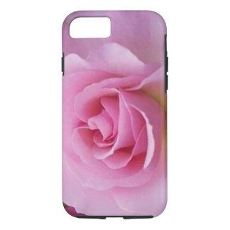 beautiful pink rose case