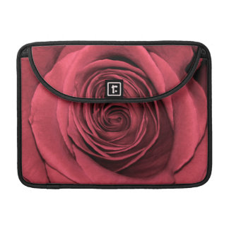 Beautiful Pink Rose Flower Floral Photo Sleeves For MacBook Pro