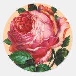 BEAUTIFUL PINK ROSE STICKER