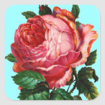 BEAUTIFUL PINK ROSE STICKERS