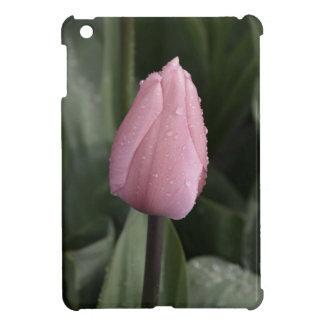 Beautiful pink single tulip iPad mini cover