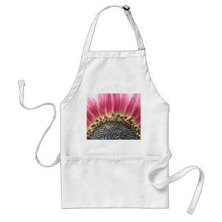 Beautiful Pink Sunflower Apron