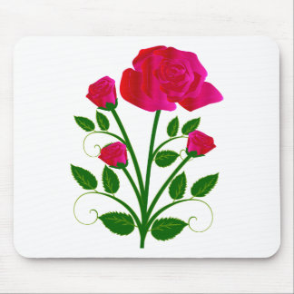 Beautiful Pinkish Roses Mouse Pad