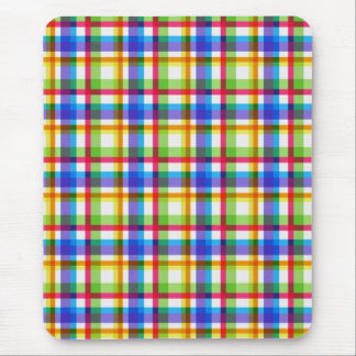 Beautiful Plaid Pattern Mouse Pad