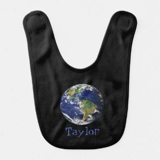 Beautiful Planet Earth Baby Bib