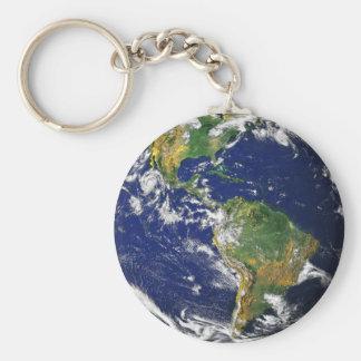 Beautiful Planet Earth Keychain