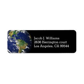 Beautiful Planet Earth Label