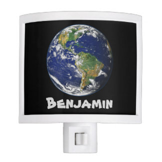 Beautiful Planet Earth Night Light