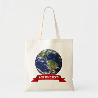 Beautiful Planet Earth Tote Bag