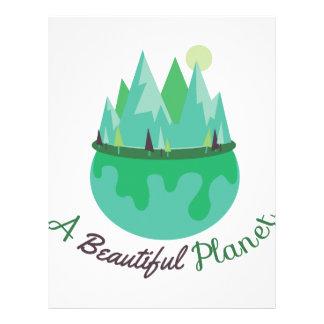 Beautiful Planet Letterhead