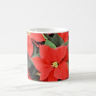 Beautiful Poinsettias Coffee Mugs