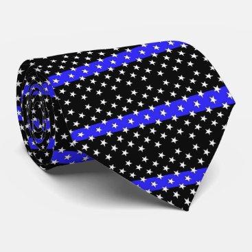 tutuzdad Beautiful Police Stars and Stripes Tie