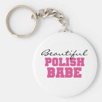 Beautiful Polish Babe Keychain