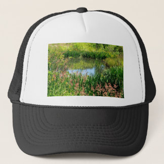 Beautiful Pond Trucker Hat