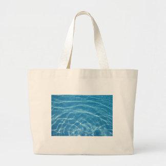 Beautiful Pool Water Tote Bags