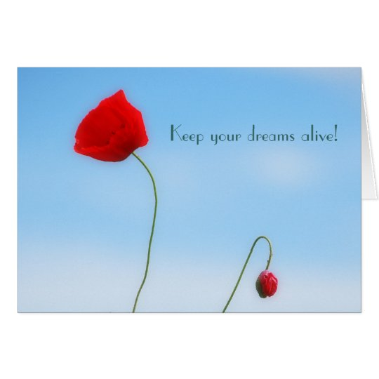 Beautiful Poppy Card