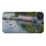 Beautiful port and sailboats with reflections in 2 iPhone 4 covers