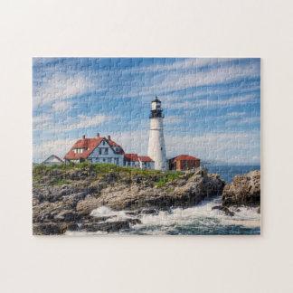 Beautiful Portland Head Light Jigsaw Puzzle