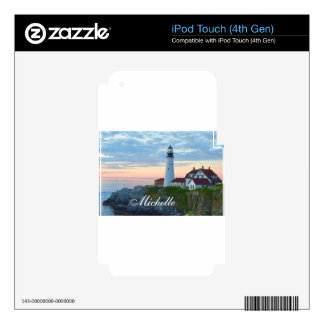 Beautiful Portland Lighthouse iPod Touch 4G Skin