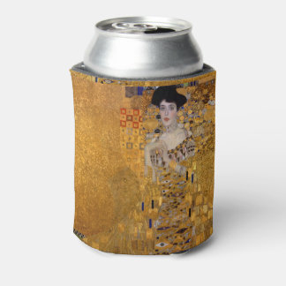 Beautiful portrait of a lady by Gustav Klimt,Deco Can Cooler