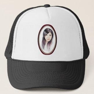 Beautiful Portrait of an Asian Woman Trucker Hat