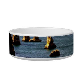 Beautiful Portugal Ocean - Teal & Azure Paradise Bowl