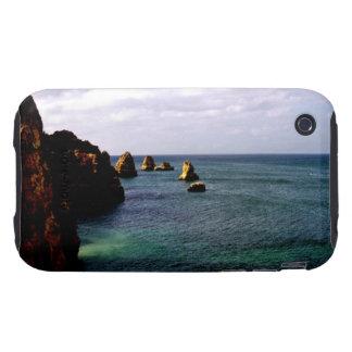 Beautiful Portugal Ocean - Teal Azure Paradise iPhone 3 Tough Cover