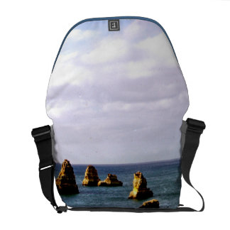 Beautiful Portugal Ocean - Teal & Azure Paradise Courier Bags