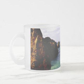 Beautiful Portugal Ocean - Teal & Azure Paradise Coffee Mugs