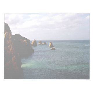 Beautiful Portugal Ocean - Teal & Azure Paradise Scratch Pads
